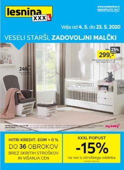Lesnina katalog Veseli malčki do 23. 5.