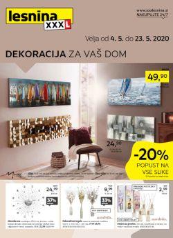 Lesnina katalog Dekoracija za vaš dom