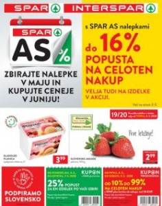 Spar in Interspar katalog do 19. 5.