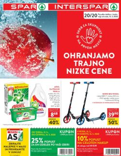 Spar in Interspar katalog do 26. 5.