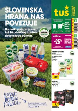 Tuš katalog trovine in franšize do 11. 5.