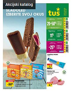 Tuš katalog trgovine in franšize do 25. 5.