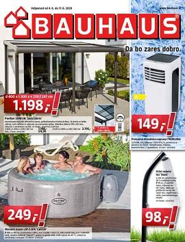 Bauhaus katalog junij 2020