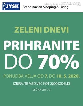 JYSK katalog Zeleni dnevi do 20.5.