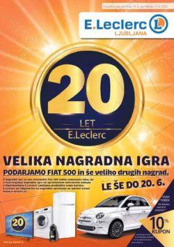 E Leclerc katalog Ljubljana do 21. 6.