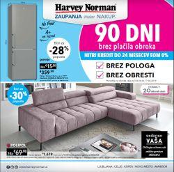 Harvey Norman katalog 90 dni brez plačila obroka