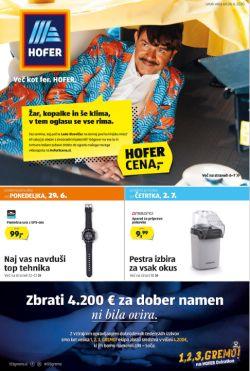 Hofer katalog od 26. 6.