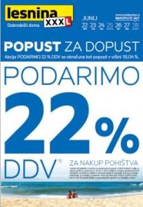 Lesnina katalog Popust za dopust do 28. 6.