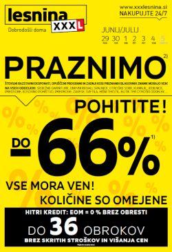 Lesnina katalog Praznimo do 5. 7.