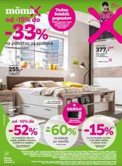 Momax katalog Do – 33 % na pohištvo za spalnice