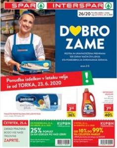 Spar in Interspar katalog do 7. 7.