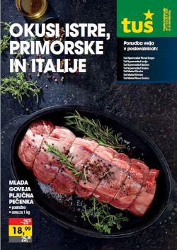 Tuš katalog Okusi Istre, Primorske in Italije
