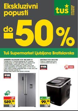 Tuš katalog Ljubljana Bratislavska
