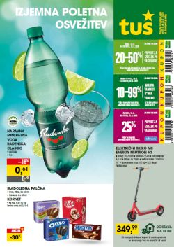 Tuš katalog trgovine in franšize do 22. 6.