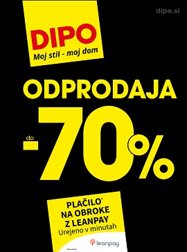 Dipo katalog Odprodaja do -70%