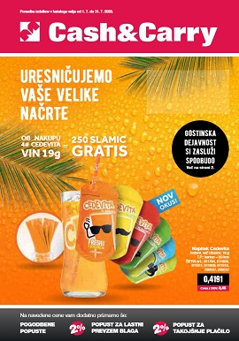 Mercator katalog Cash & Carry julij 2020