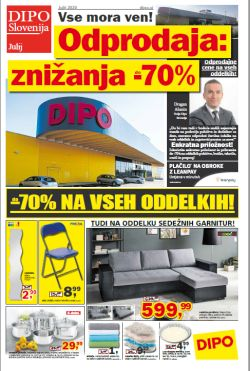 Dipo katalog Odprodaja do – 70 %