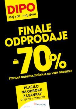 Dipo katalog Finale odprodaje do – 70 %