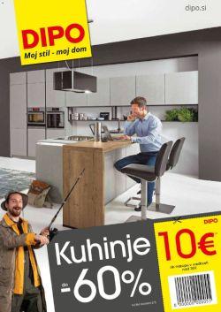 Dipo katalog Kuhinje do – 60 % do 8. 8.