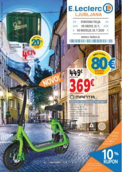E Leclerc katalog Ljubljana do 26. 7.