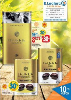 E Leclerc katalog Ljubljana do 9. 8.