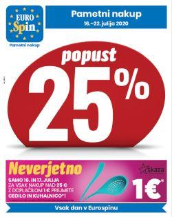 Eurospin katalog do 22. 7.