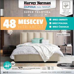 Harvey Norman katalog 48 mesecev hitri kredit