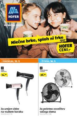 Hofer katalog od 10. 7.