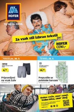 Hofer katalog od 17. 7.