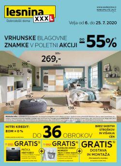 Lesnina katalog Vrhunske blagovne znamke do 25. 7.