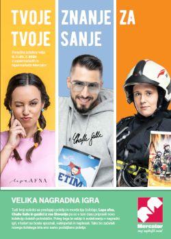 Mercator katalog Šolske potrebščine do 20. 7.