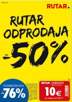 Rutar katalog Odprodaja do – 50 % do 18. 7.