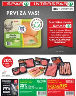 Spar in Interspar katalog do 14. 7.