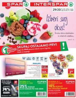 Spar in Interspar katalog do 28. 7.