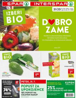 Spar in Interspar katalog do 11. 8.