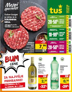 Tuš katalog trgovine in franšize do 27. 7.