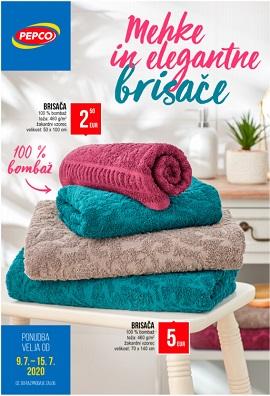 Pepco katalog Mehke in elegantne brisače