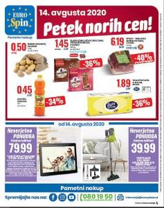 Eurospin petek norih cen 14. 8.