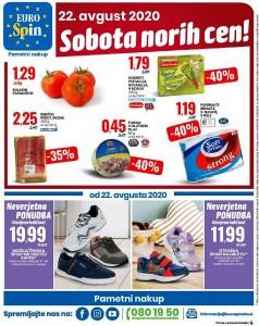Eurospin sobota norih cen 22. 8.