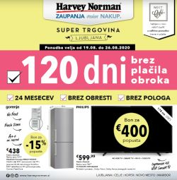 Harvey Norman katalog 120 dni tehnika