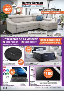 Harvey Norman katalog do 9. 9.