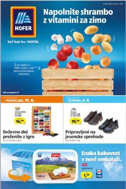 Hofer katalog od 28. 8.