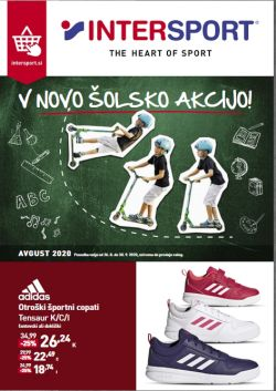 Intersport katalog V novo šolsko akcijo