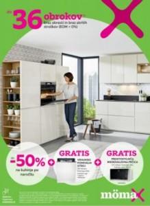 Momax katalog Do – 50 % na kuhinje