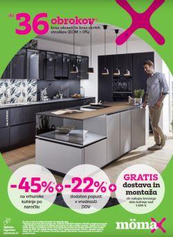 Momax katalog Do – 45 % za kuhinje