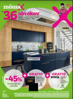 Momax katalog Do – 45 % na kuhinje