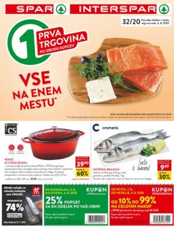 Spar in Interspar katalog do 18. 8.