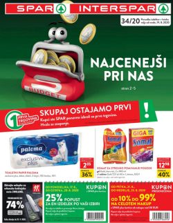 Spar in Interspar katalog do  25. 8.
