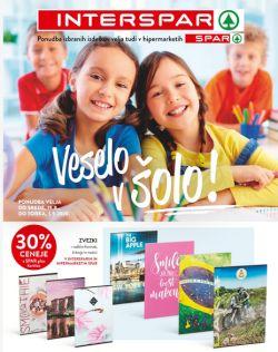 Spar in Interspar katalog Veselo v šolo