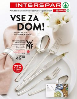 Spar in Interspar katalog Vse za dom